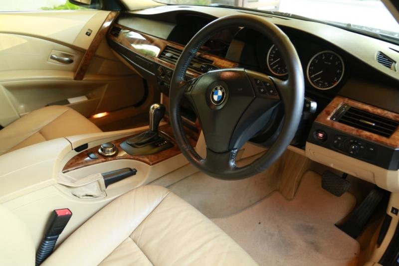 car bmw 5 series 2006 lahore 24257