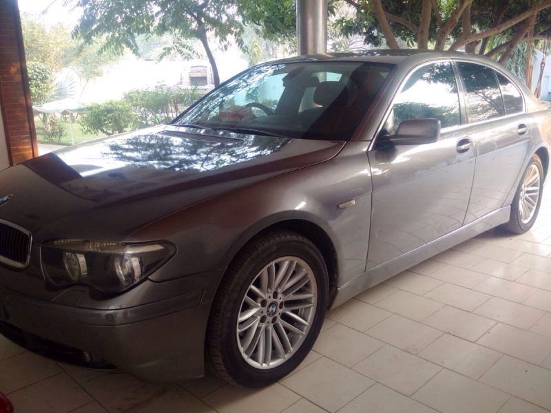 car bmw 7 series 2008 lahore 26171