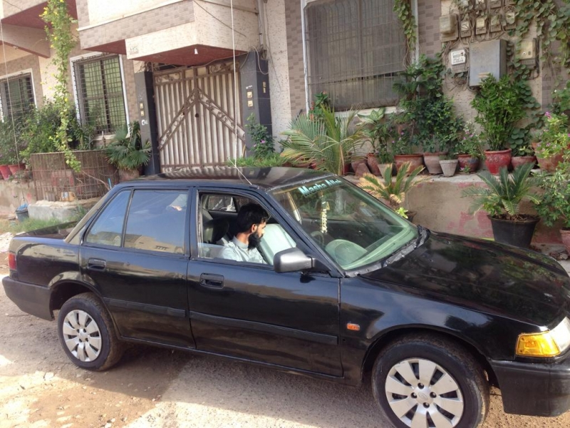 car honda civic exi 1990 karachi 27944