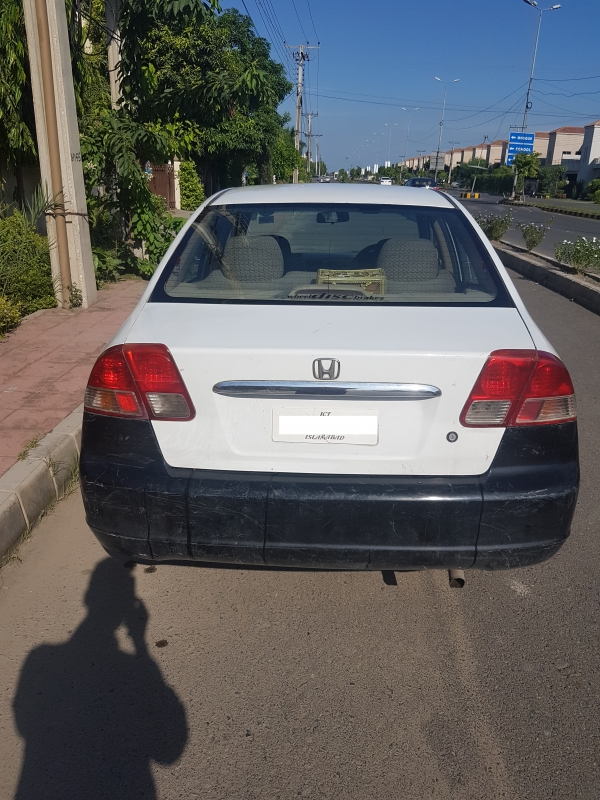 car honda civic exi 2005 lahore 27355