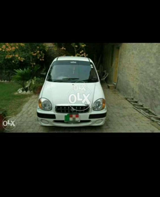 car hyundai santro club 2001 faisalabad 26975