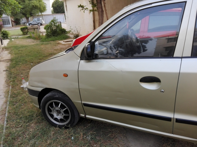 car hyundai santro club 2003 karachi 27952
