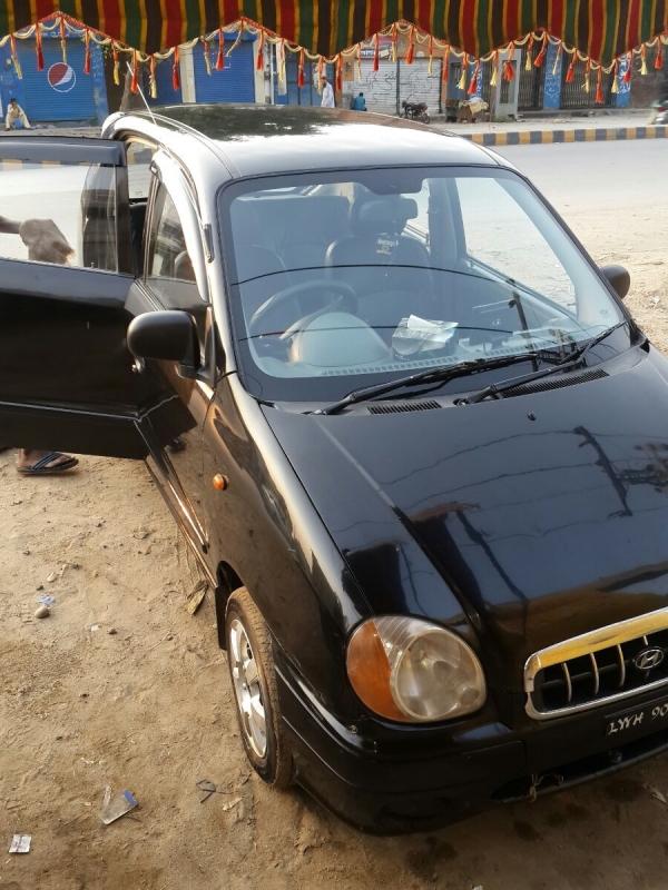 car hyundai santro club 2006 gujranwala 26432