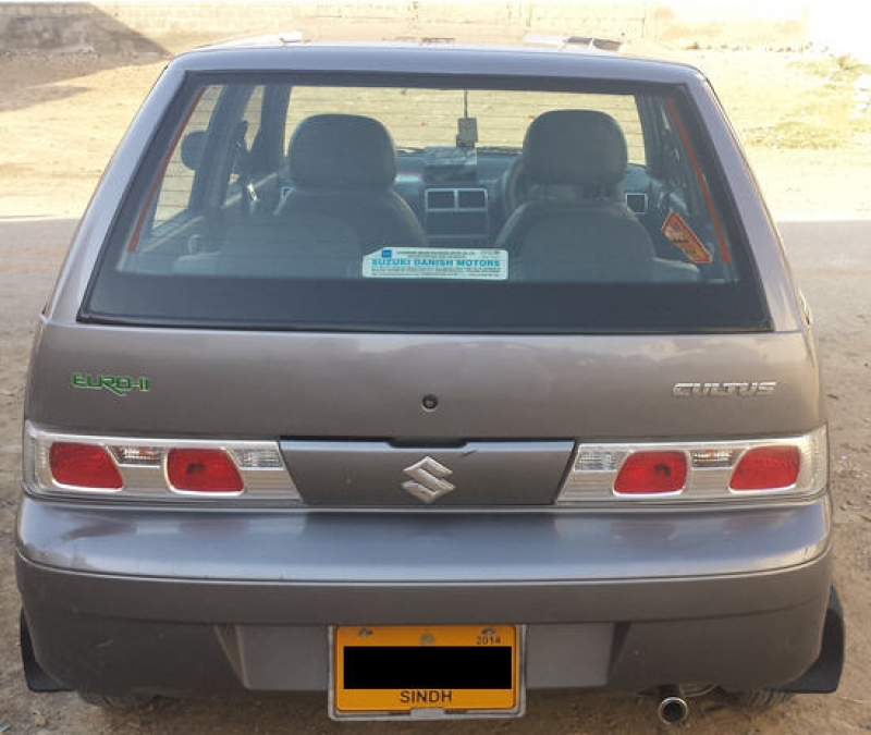 Olx Cars Rawalpindi Islamabad: 2014 Suzuki Cultus For Sale In Karachi