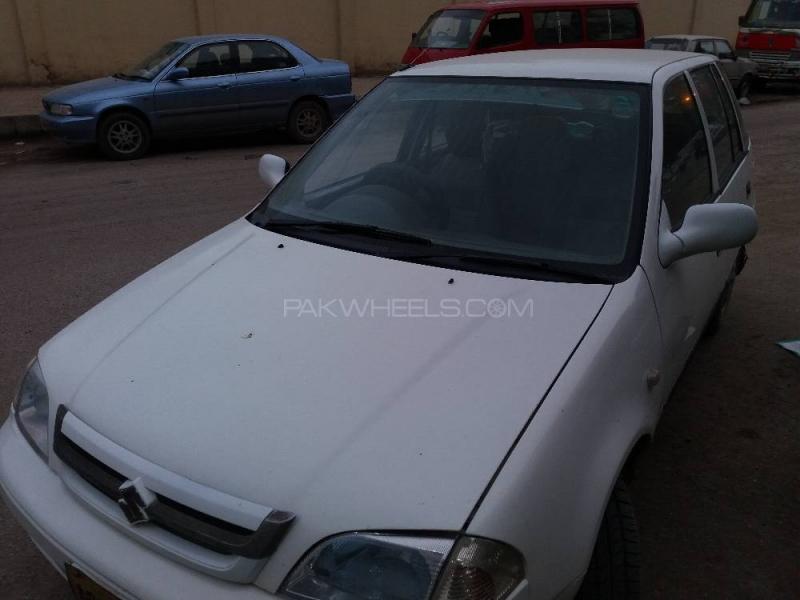 car suzuki cultus vxr 2001 karachi 26497