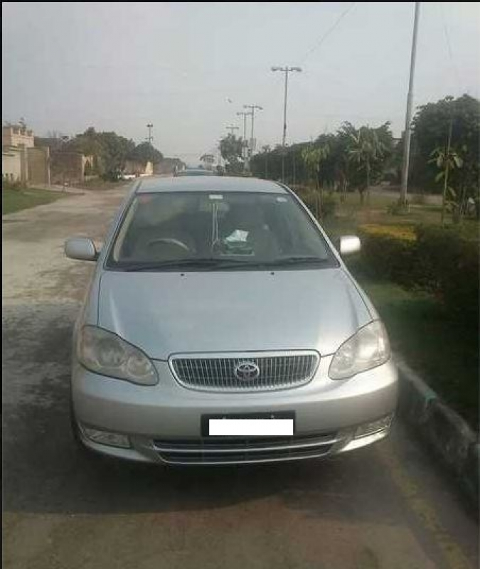 2006 Toyota Corolla For Sale In Faisalabad