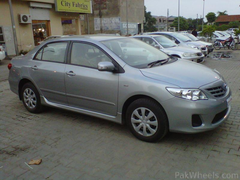2012 toyota corolla gli for sale in lahore. Black Bedroom Furniture Sets. Home Design Ideas