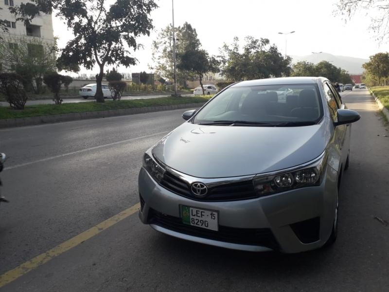 car toyota corolla gli 2015 islamabad rawalpindi 27859
