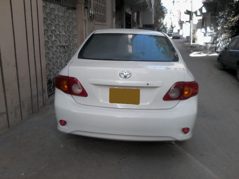 Toyota Corolla Lease >> 2009 toyota corolla-xli for sale in karachi