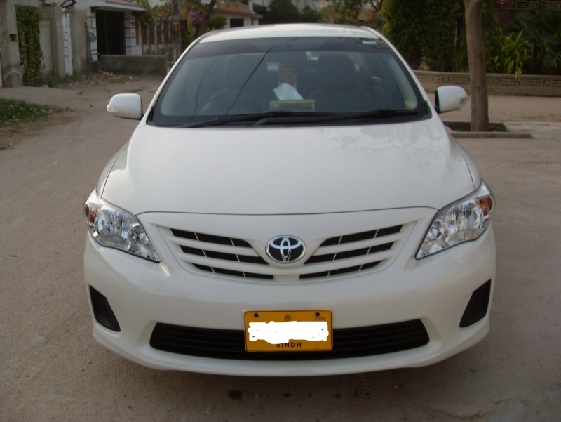 2012 toyota corolla xli for sale in karachi. Black Bedroom Furniture Sets. Home Design Ideas