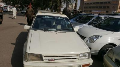 car daihatsu charade 1986 karachi 26270
