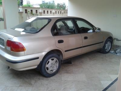 car honda civic exi 1998 islamabad rawalpindi 23520