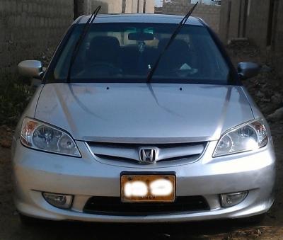 car honda civic prosmetic 2005 karachi 25146
