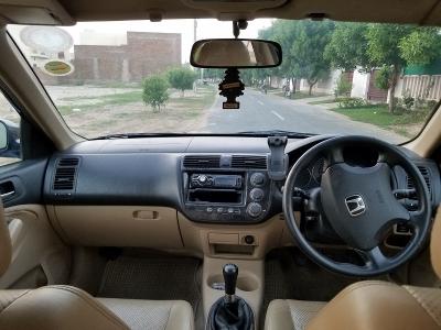 car honda civic_exi 2003 multan 26037