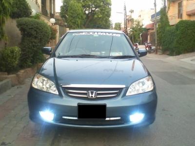 car honda civic_exi 2004 lahore 23860