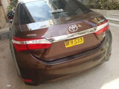 car toyota corolla gli 2015 karachi 26595