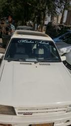Car Daihatsu Charade 1986 Karachi