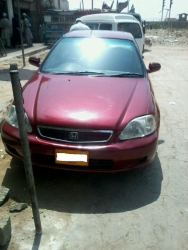 car honda civic exi 1999 karachi 25930