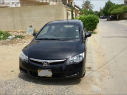 Car Honda Civic prosmetic 2009 Karachi