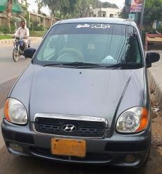 Car Hyundai Santro exec 2004 Khairpur