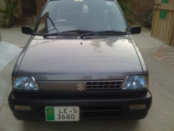 Car Suzuki Mehran vx 2013 Lahore