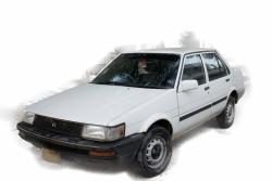 Car Toyota Corolla 2.0 d saloon 1987 Karachi