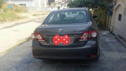 Car Toyota Corolla gli 2012 Islamabad-Rawalpindi