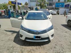 Car Toyota Corolla gli 2014 Islamabad-Rawalpindi