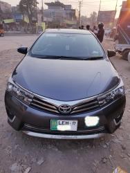Car Toyota Corolla gli 2017 Lahore