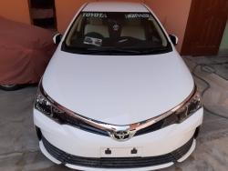 Car Toyota Corolla gli 2019 Nawab shah