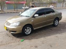 Car Toyota Corolla saloon 2002 Karachi