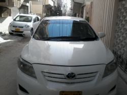 car toyota corolla xli 2009 karachi 24499