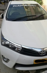 Car Toyota Corolla xli 2016 Hyderabad